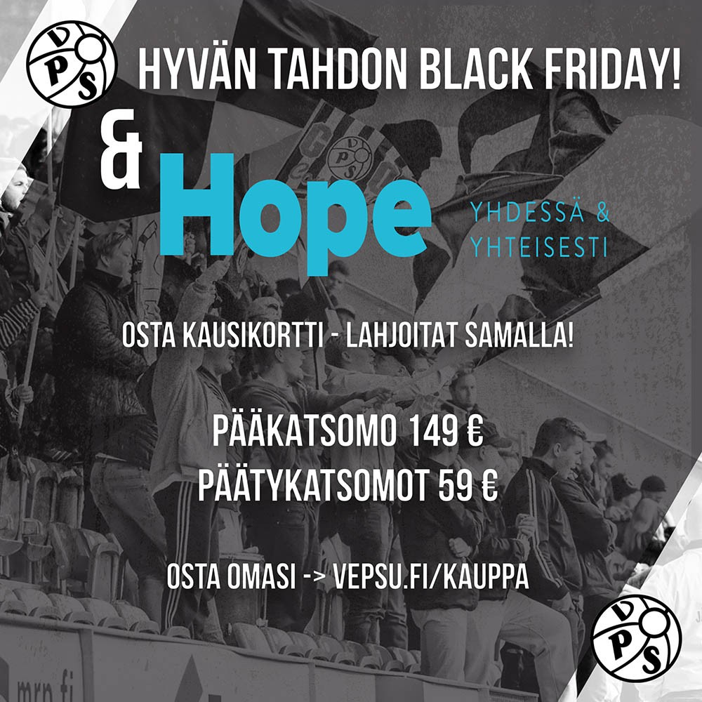 BLACK-FRIDAY & HOPE